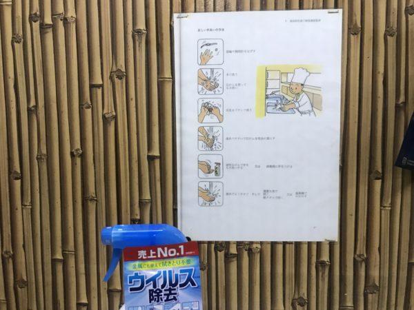 ウイルス感染予防の手洗い方法