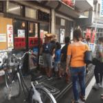 2018年ふじみ野市上福岡七夕まつりの様子